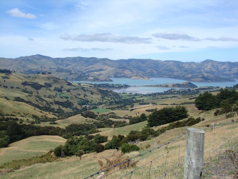 Banks Peninsula -- Fahrt nach Akaroa