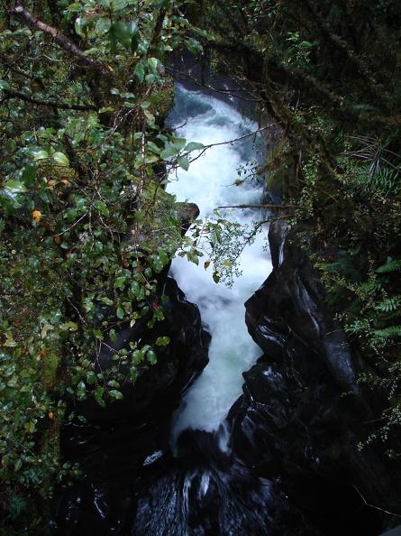 Jahrtausende -- hat das Wasser gebraucht, um sich den Weg zu bahnen