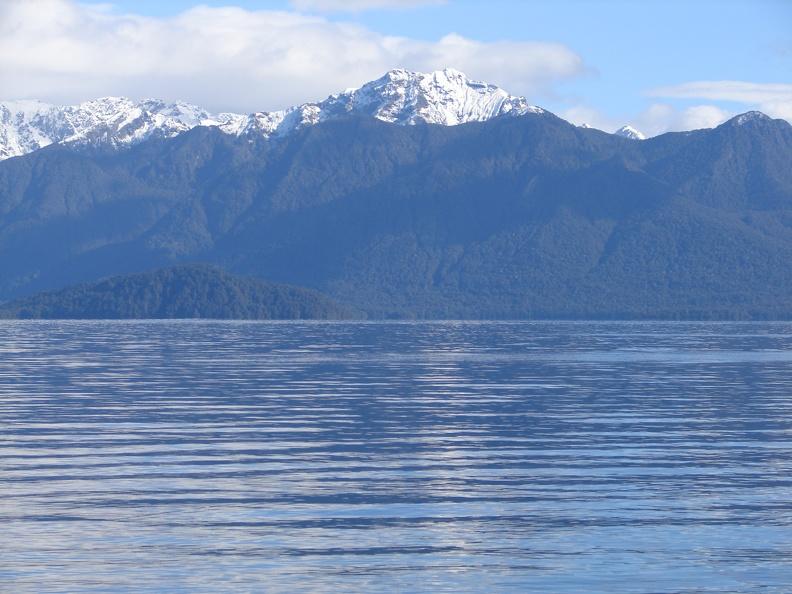 Southern Alps im Hintergrund -- Panoramabild