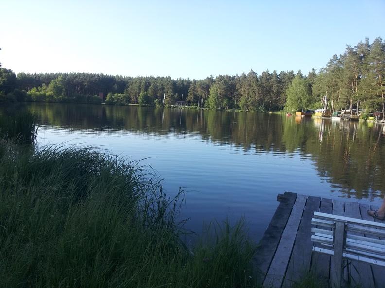 Camping Waldsee -- der erste Camping-Test nach der Myelitis